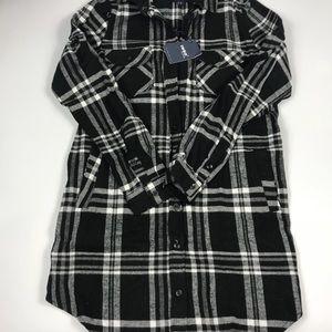 Tops - Women's Long Sleeve Tunic Shirt Medium